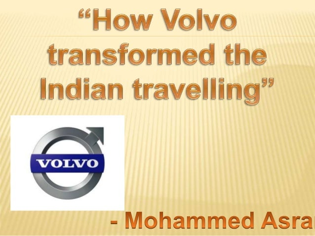 How Volvo transformed the way Indian's travel