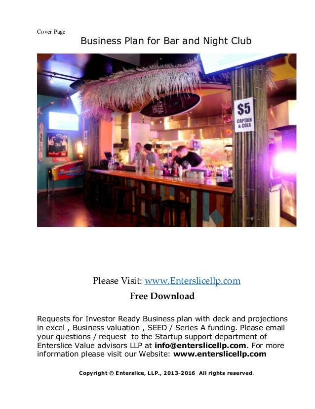Nightclub business plan template nightclub business plan template nightclub business plan template cheaphphosting Images