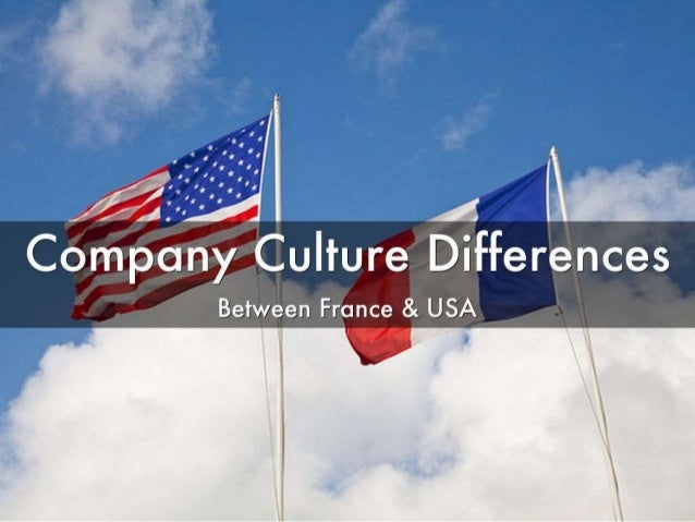 Differences dating france us