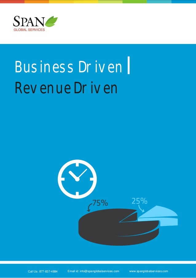 Business driven-Revenue driven from Span Global Services