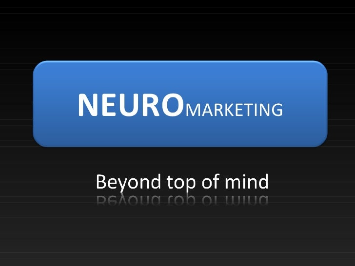 Presentation Neuro marketing
