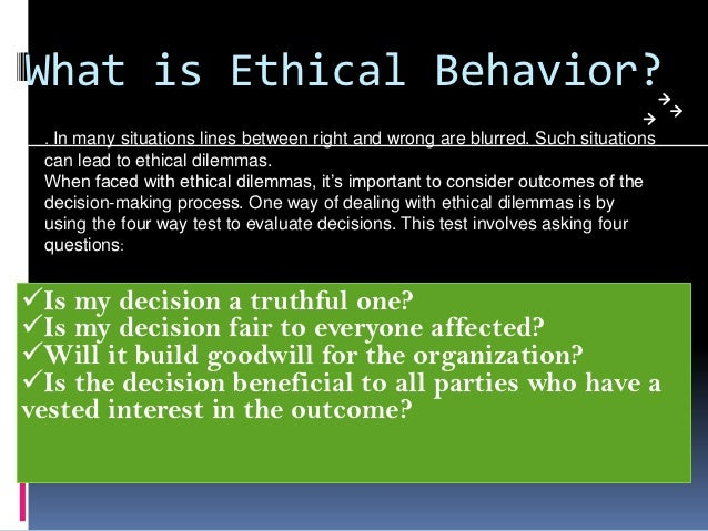 business ethics why important Ethical behavior is equally important in the workplace as it is in our personal lives everywhere business is conducted, ethics matters.