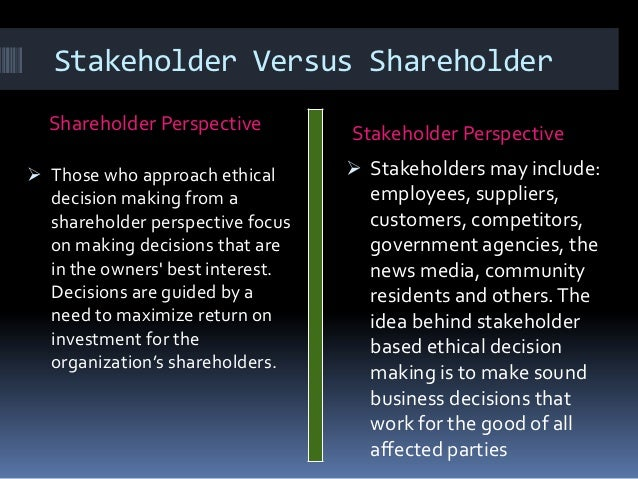 governing stakeholders and business ethics essay custom paper  governing stakeholders and business ethics essay terris discusses the  history of business ethics in america since
