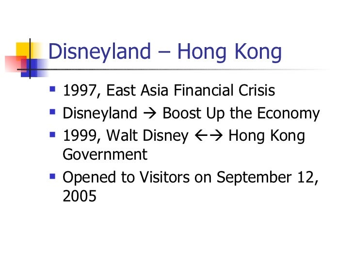 ethical issues in hong kong disneyland Hongkong disneyland essay info: 2540 words  hong kong disneyland (hkdl) is owned by hong kong government and walt disney company though joint venture and managed by walt disney company through subsidiaries  environmental concern and other ethical issues, such as reliable suppliers 7 stable relationship with suppliers.