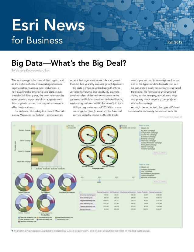 Esri News for Business -- Fall 2012