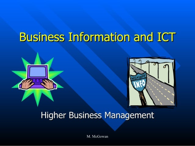 "Business Information and ICT  ' _-, '.'- _,  , .  . I ' P .  - ,   4| .  . ' l "" Q a  D ' '  '