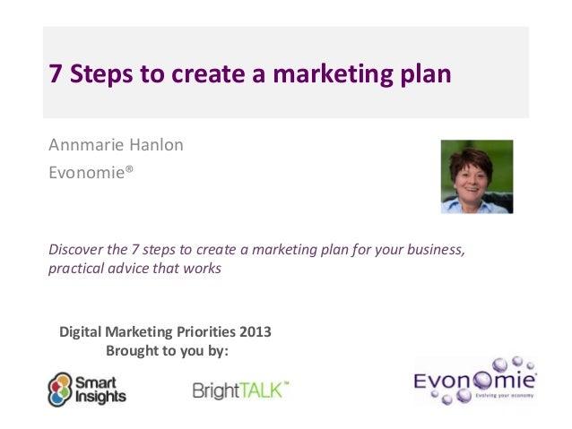 Create a Business Marketing Plan
