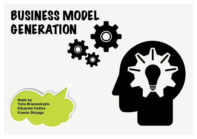 Business model generation by designers