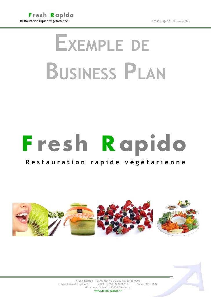 F resh R apidoRestauration rapide végétarienne                                                              Fresh Rapido –...