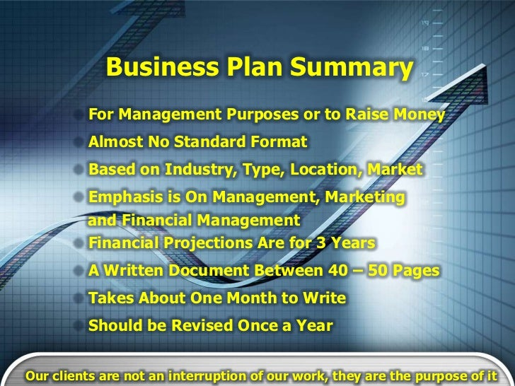 Business plan for consulting business
