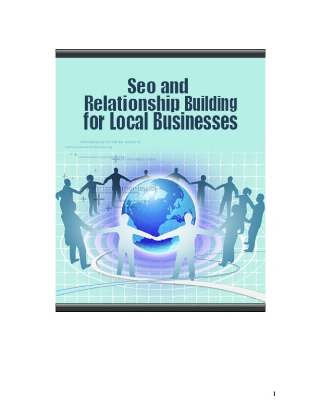 SEO and relationship building for local businesses