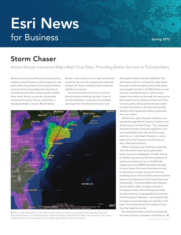 Esri News for Business—Spring 2012