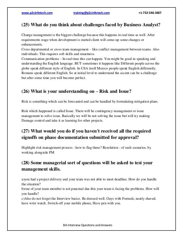 analytical skills interview questions and answers