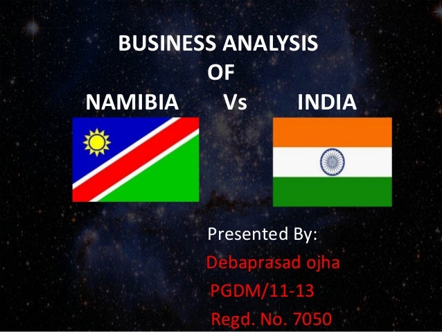 Business analysis of namibia