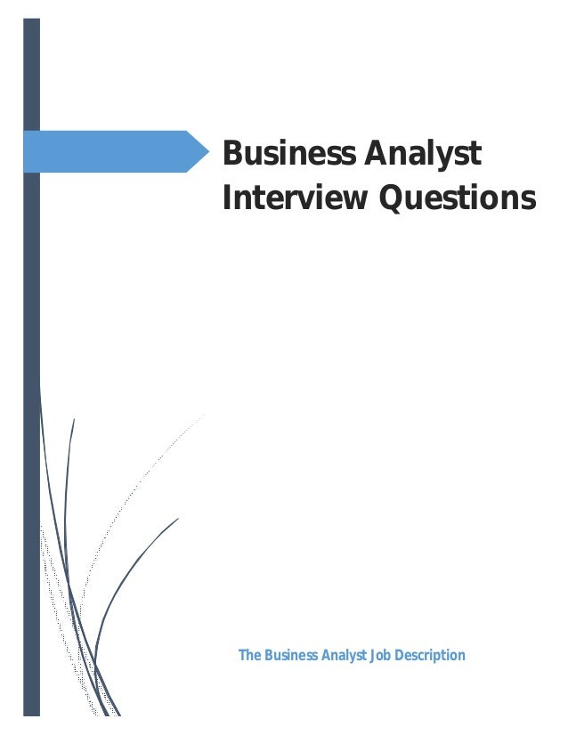 8 Common Business Analyst Interview Questions