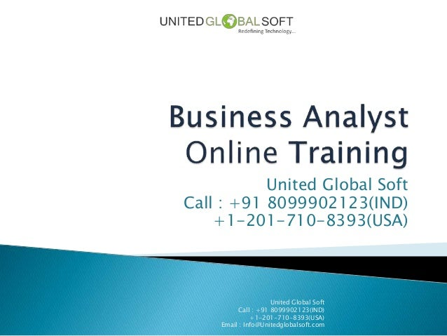 Business analyst training at United Global Soft