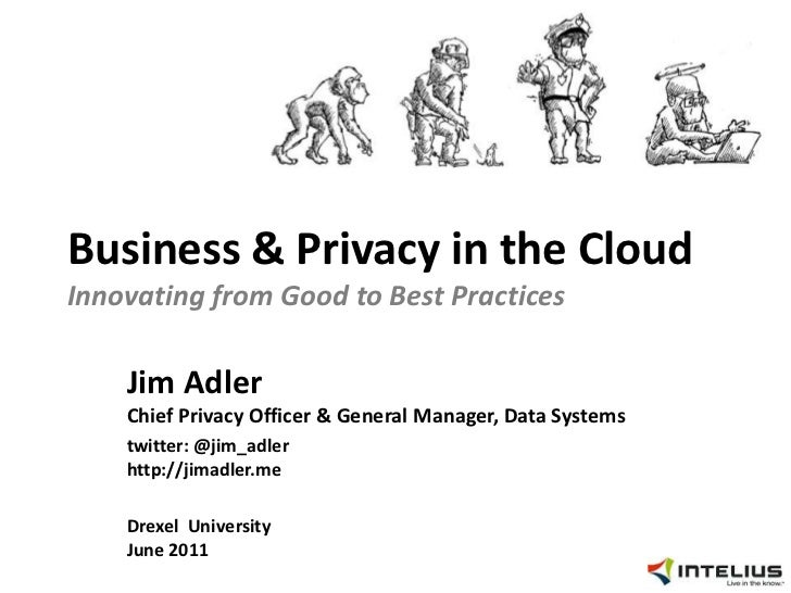 Drexel University: Business and Privacy in the Cloud