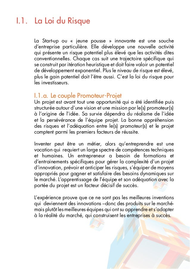guide de financement de la start up innovante en tunisie