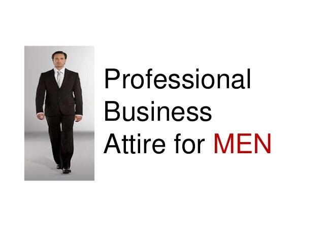 Professional Business Attire for Men