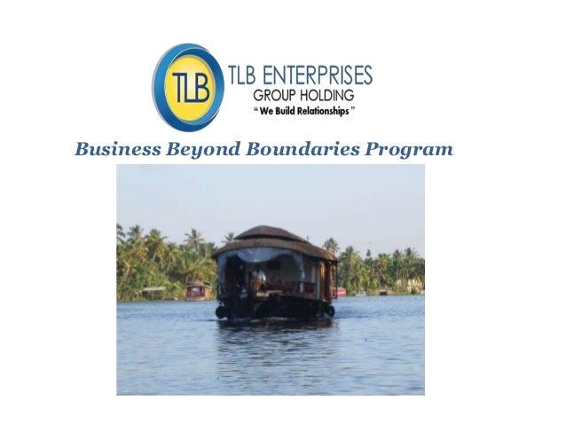 Business Beyond Boundaries Program