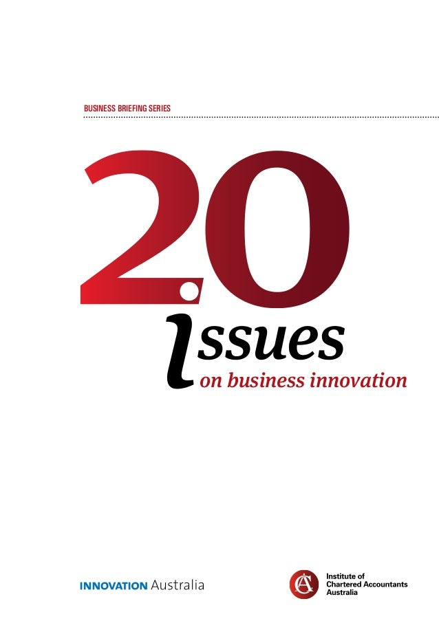 Business Briefings: 20 issues on business innovation