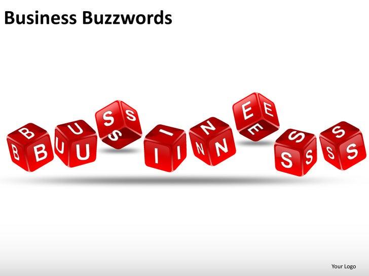 Business buzzwords powerpoint presentation templates