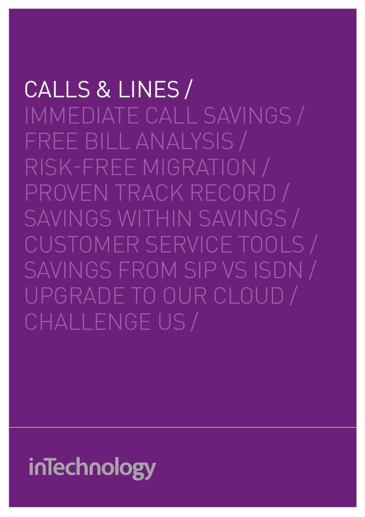 Business Calls And Lines Services