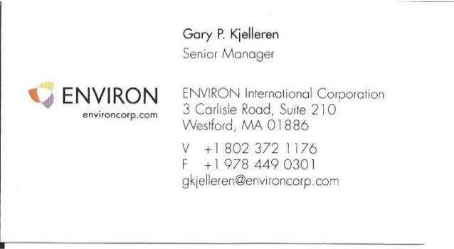 Environmental Engineer - Solution Providing