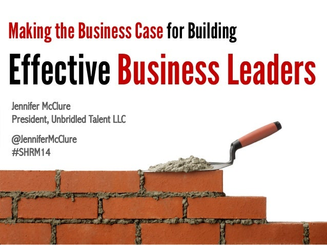 how to write an effective business case