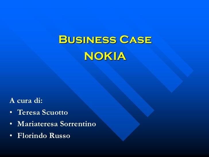 Business case nokia