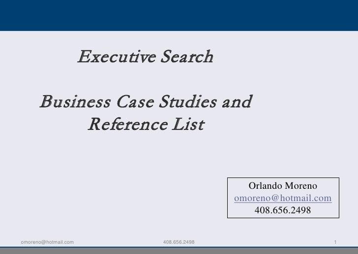 Business Case Studies