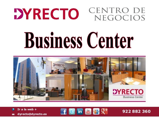Business center In Tenerife, Canary Islands