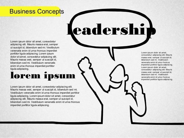 Business Concepts leadership Lorem ipsum dolor sit amet, consectetur adipiscing elit. Mauris massa erat, semper ut suscipi...