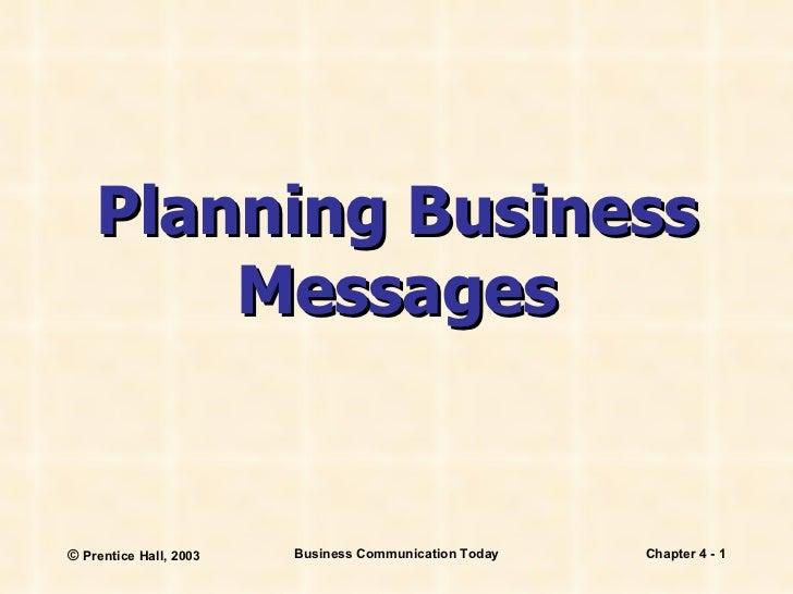 Business comm ch 4 presentation