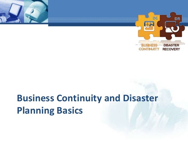 business continuity disaster recovery plan case study