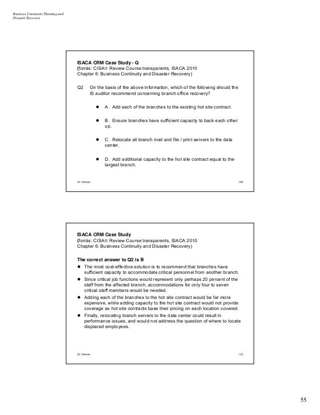 IT & Business Case Studies - Sungard Availability Services