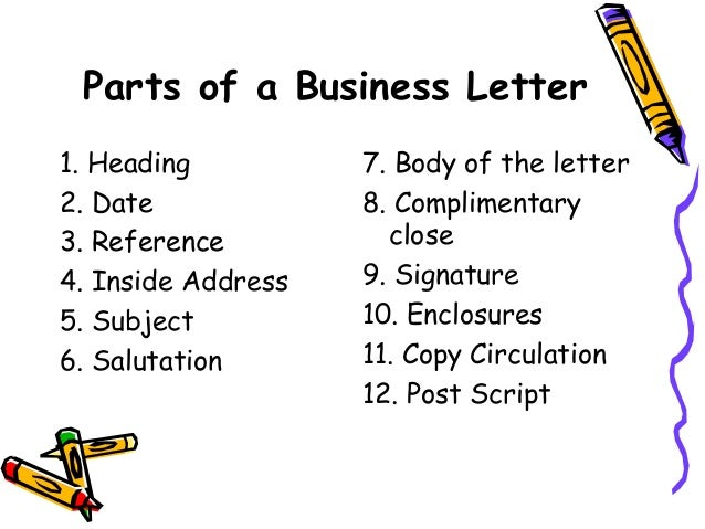 Sample Of Various Types Of Business Letters - types of business ...