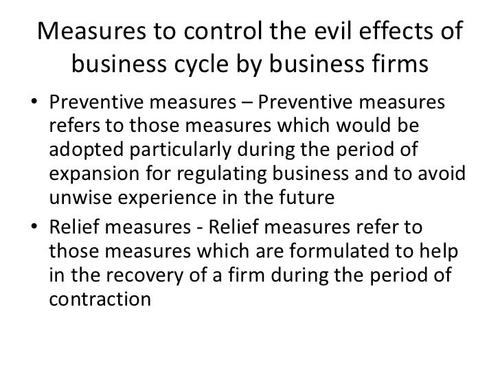 effects of business cycles
