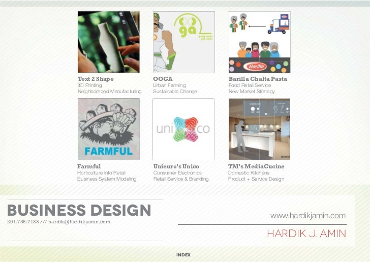 Business design hardik amin