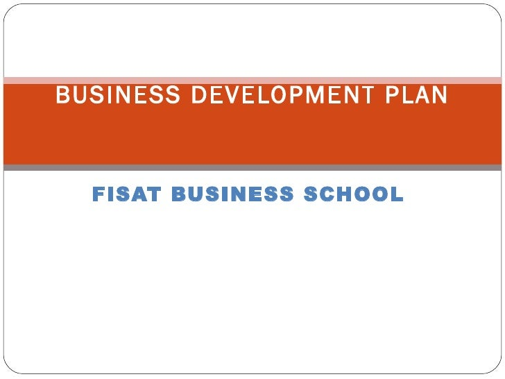 FISAT BUSINESS SCHOOL BUSINESS DEVELOPMENT PLAN