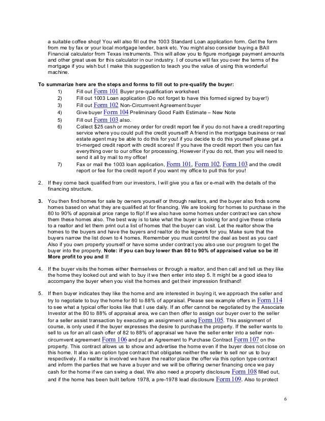 Real estate brokerage business plan pdf