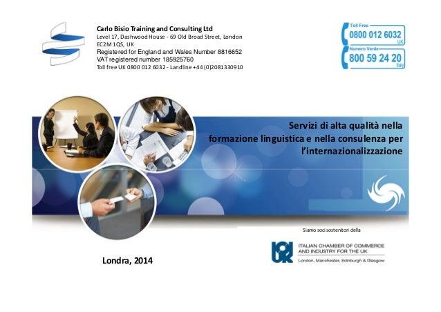 Business English London presentazione dei servizi