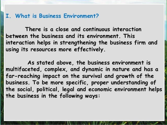 What is Business?