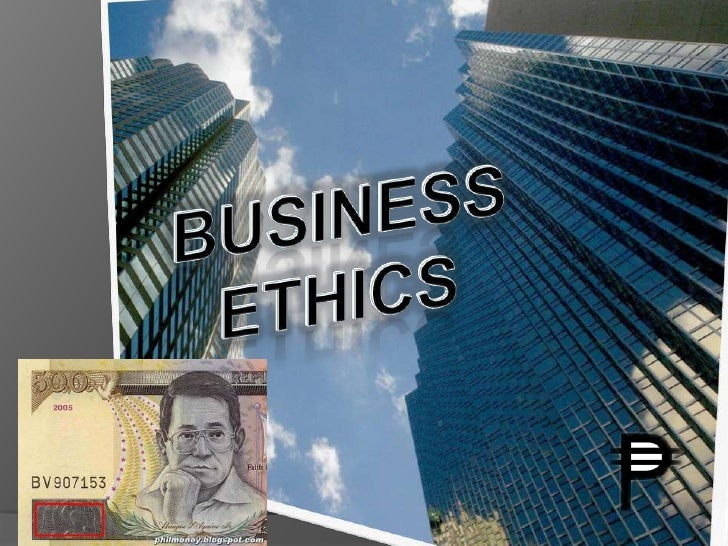 Business ethics<br />