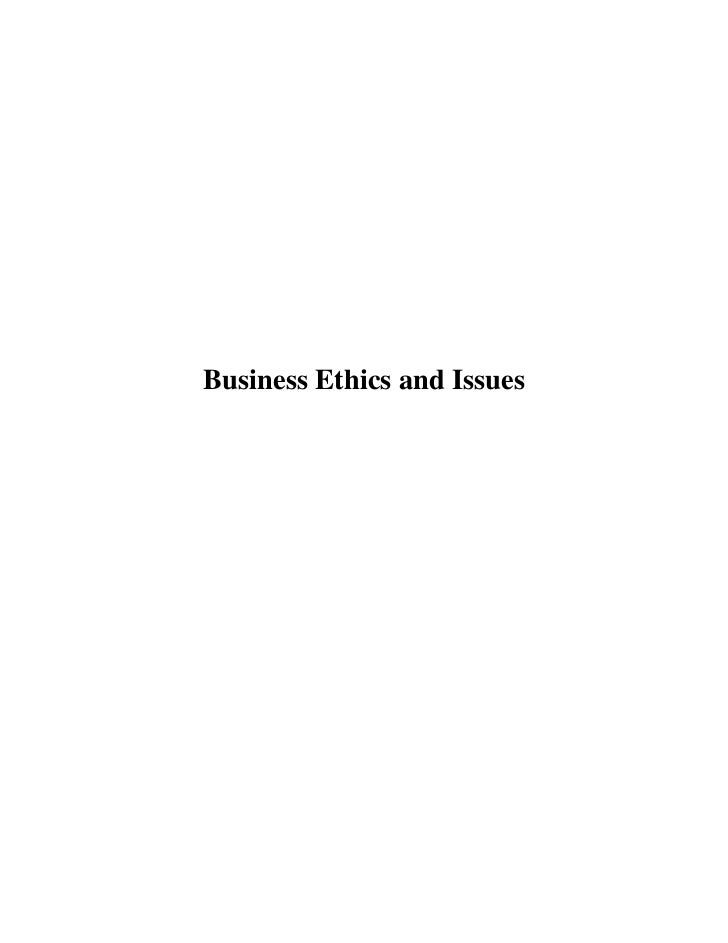 business ethic for tesco problem Analyse the legal, ethical and operational issues in tesco could fall under many legal problems ethical problems that can arise in a business.
