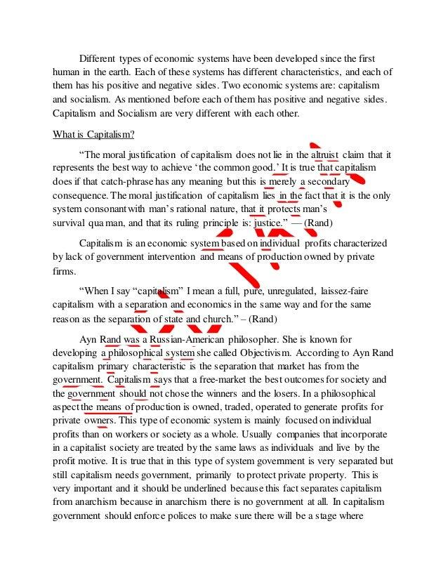 capitalism and socialism essay communism vs capitalism chart nitasweb