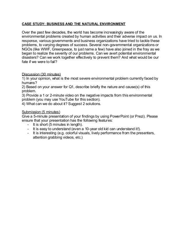 term paper environmental ethics