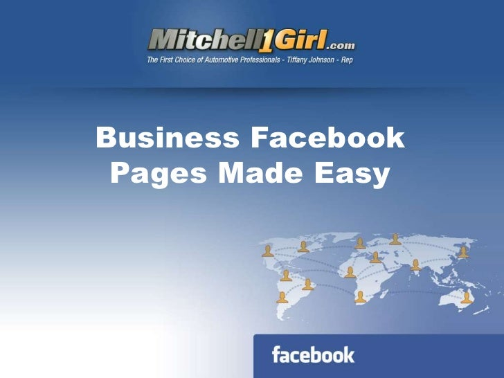 Business Facebook Pages Made Easy<br />