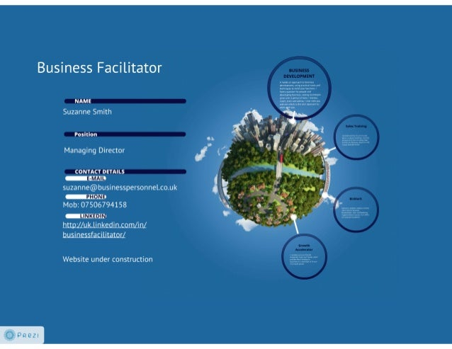 Business facilitator 1