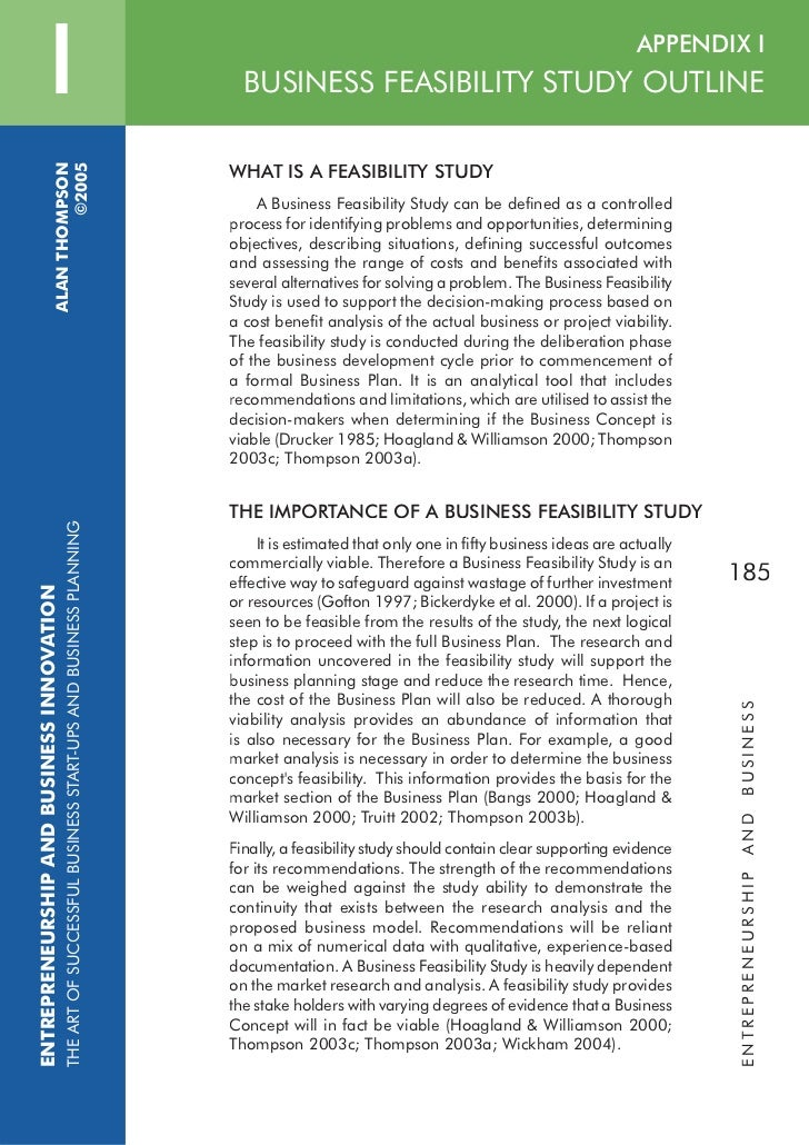 feasibility study example